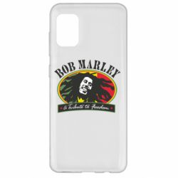Чехол для Samsung A31 Bob Marley A Tribute To Freedom