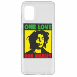 Чехол для Samsung A31 Bob Marley One Love