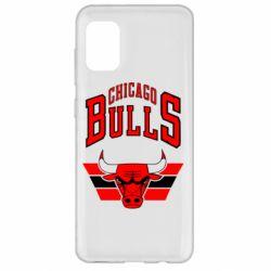 Чохол для Samsung A31 Великий логотип Chicago Bulls