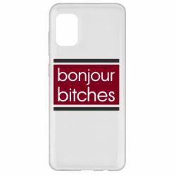 Чехол для Samsung A31 Bonjour bitches