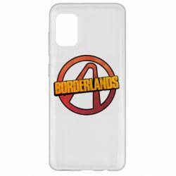 Чехол для Samsung A31 Borderlands logotype