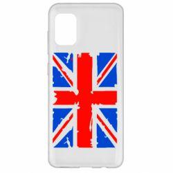 Чехол для Samsung A31 Британский флаг