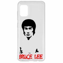 Чехол для Samsung A31 Bruce Lee