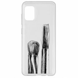 Чохол для Samsung A31 Brushes