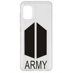 Чохол для Samsung A31 Bts army