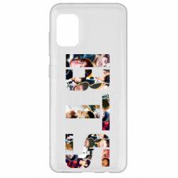 Чехол для Samsung A31 BTS collage