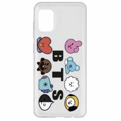 Чохол для Samsung A31 Bts emoji