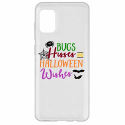 Чохол для Samsung A31 Bugs Hisses and Halloween Wishes