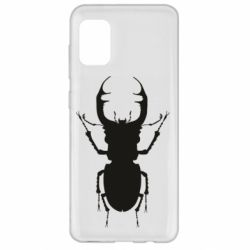 Чехол для Samsung A31 Bugs silhouette