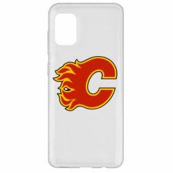 Чехол для Samsung A31 Calgary Flames