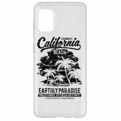 Чохол для Samsung A31 California Beach