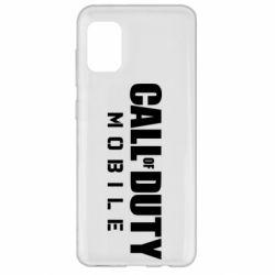 Чехол для Samsung A31 Call of Duty Mobile