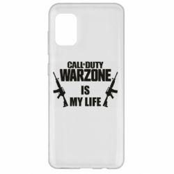 Чехол для Samsung A31 Call of duty warzone is my life M4A1