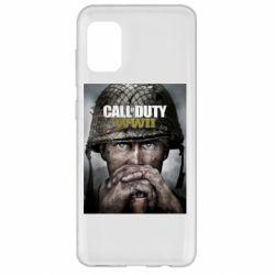 Чохол для Samsung A31 Call of Duty WW2 poster