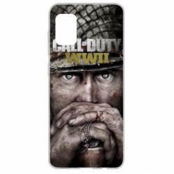 Чехол для Samsung A31 Call of Duty WWII