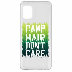 Чехол для Samsung A31 Camp hair don't care
