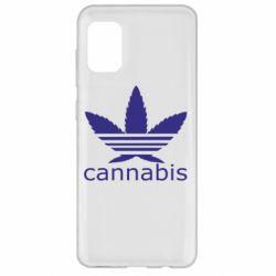 Чохол для Samsung A31 Cannabis