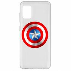 Чехол для Samsung A31 Captain America 3D Shield