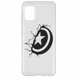 Чохол для Samsung A31 Captain America shield