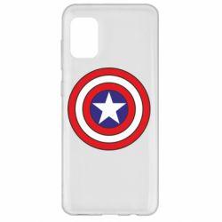 Чехол для Samsung A31 Captain America