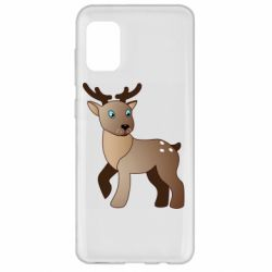 Чехол для Samsung A31 Cartoon deer