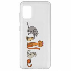 Чехол для Samsung A31 Cat family