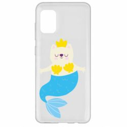 Чохол для Samsung A31 Cat-mermaid