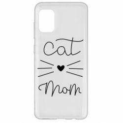 Чохол для Samsung A31 Cat mom