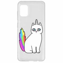 Чехол для Samsung A31 Cat Unicorn
