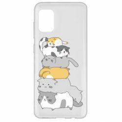 Чохол для Samsung A31 Cats
