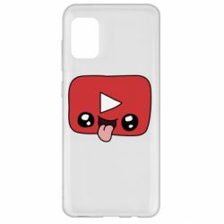 Чохол для Samsung A31 Cheerful YouTube