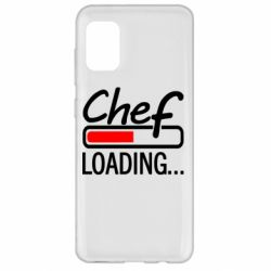 Чехол для Samsung A31 Chef loading
