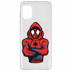 Чохол для Samsung A31 Людина павук в толстовці