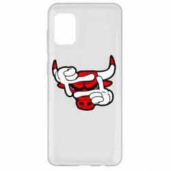 Чехол для Samsung A31 Chicago Bulls бык