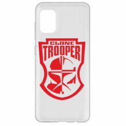Чехол для Samsung A31 Clone Trooper