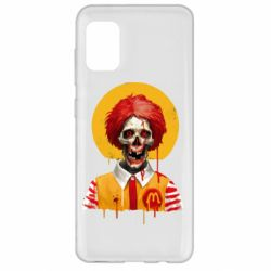 Чохол для Samsung A31 Clown McDonald's skeleton