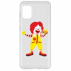 Чохол для Samsung A31 Clown McDonald's
