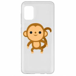 Чохол для Samsung A31 Colored monkey