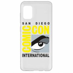 Чохол для Samsung A31 Comic-Con International: San Diego logo