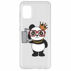 Чохол для Samsung A31 Cool panda