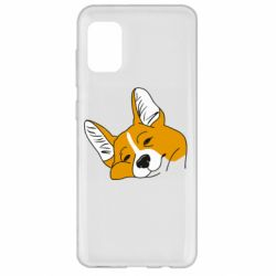Чохол для Samsung A31 Corgi is dozing