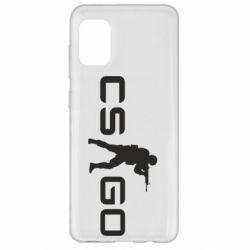 Чехол для Samsung A31 Counter Strike GO