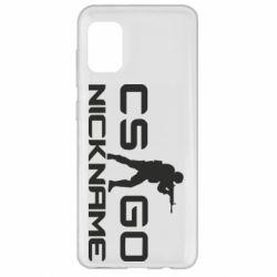 Чехол для Samsung A31 Counter-Strike nickname