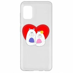 Чохол для Samsung A31 Couple Bears