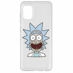Чехол для Samsung A31 Crazy Rick