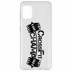 Чехол для Samsung A31 CrossFit Champ