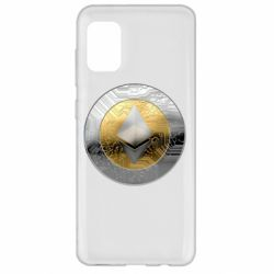 Чехол для Samsung A31 Cryptomoneta