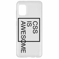 Чохол для Samsung A31 CSS is awesome