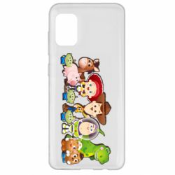Чохол для Samsung A31 Cute characters toy story