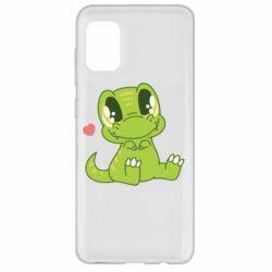 Чохол для Samsung A31 Cute dinosaur